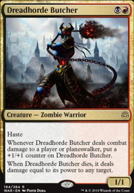 War of the Spark: Dreadhorde Butcher