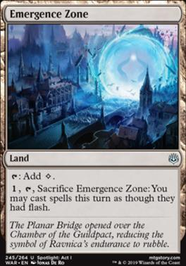 War of the Spark Foil: Emergence Zone