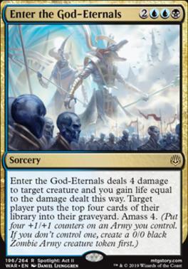 War of the Spark: Enter the God-Eternals