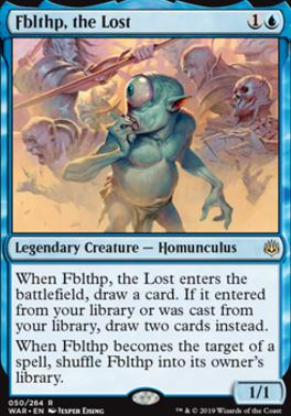 Fblthp, the Lost | War of the Spark | Standard | Card Kingdom