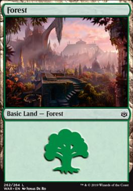 War of the Spark: Forest (262 A)