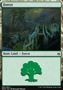 War of the Spark: Forest (264 C)