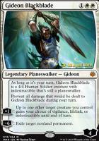 Promotional: Gideon Blackblade (Prerelease Foil)