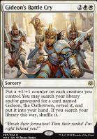 War of the Spark: Gideon's Battle Cry (Planeswalker Deck)