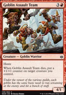 War of the Spark: Goblin Assault Team