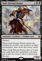 War of the Spark Foil: God-Eternal Bontu
