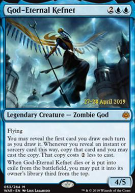 Promotional: God-Eternal Kefnet (Prerelease Foil)