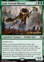 Promotional: God-Eternal Rhonas (Prerelease Foil)