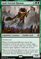War of the Spark: God-Eternal Rhonas