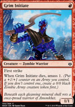 War of the Spark: Grim Initiate