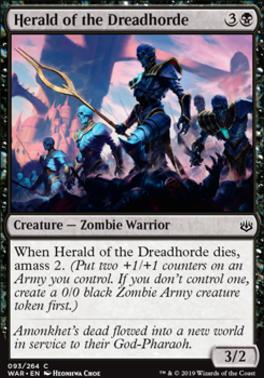 War of the Spark: Herald of the Dreadhorde