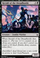War of the Spark Foil: Herald of the Dreadhorde