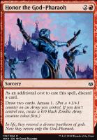 War of the Spark Foil: Honor the God-Pharaoh
