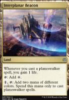 War of the Spark Foil: Interplanar Beacon