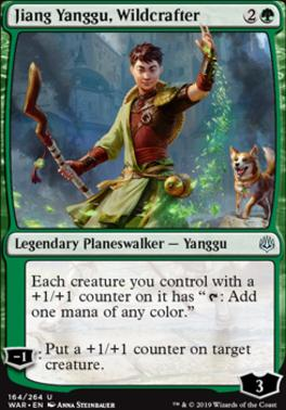 War of the Spark: Jiang Yanggu, Wildcrafter