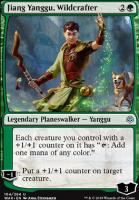War of the Spark Foil: Jiang Yanggu, Wildcrafter