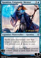 Promotional: Kasmina, Enigmatic Mentor (Prerelease Foil)