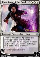 Promotional: Kaya, Bane of the Dead (Prerelease Foil)
