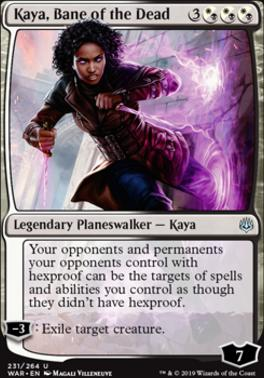 War of the Spark: Kaya, Bane of the Dead