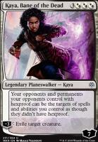 War of the Spark Foil: Kaya, Bane of the Dead