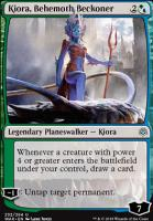 War of the Spark Foil: Kiora, Behemoth Beckoner