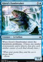 War of the Spark Foil: Kiora's Dambreaker