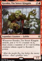 War of the Spark Foil: Krenko, Tin Street Kingpin