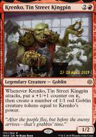 Promotional: Krenko, Tin Street Kingpin (Prerelease Foil)