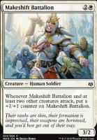 War of the Spark Foil: Makeshift Battalion