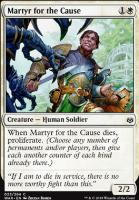 War of the Spark Foil: Martyr for the Cause