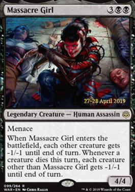 Promotional: Massacre Girl (Prerelease Foil)