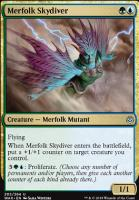 War of the Spark Foil: Merfolk Skydiver