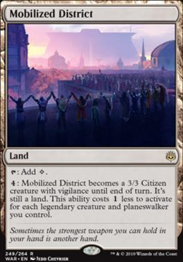 War of the Spark: Mobilized District