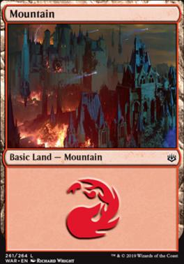 War of the Spark: Mountain (261 C)