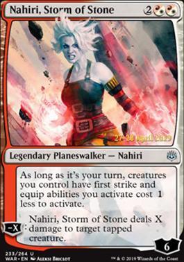 Promotional: Nahiri, Storm of Stone (Prerelease Foil)