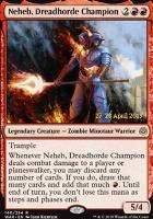 Promotional: Neheb, Dreadhorde Champion (Prerelease Foil)