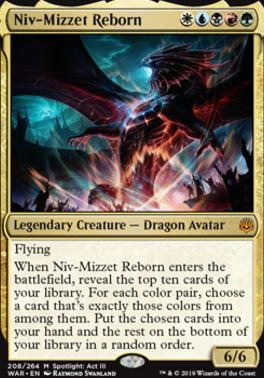 War of the Spark: Niv-Mizzet Reborn