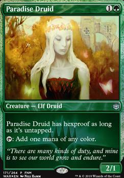 Promotional: Paradise Druid (FNM Foil)