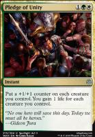 War of the Spark Foil: Pledge of Unity