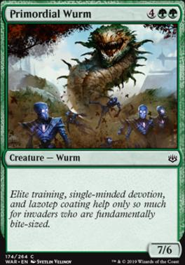 War of the Spark: Primordial Wurm
