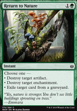 War of the Spark: Return to Nature