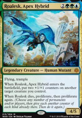 War of the Spark: Roalesk, Apex Hybrid