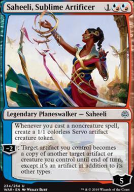 War of the Spark: Saheeli, Sublime Artificer
