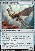 War of the Spark Foil: Saheeli's Silverwing