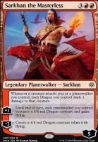 War of the Spark Foil: Sarkhan the Masterless