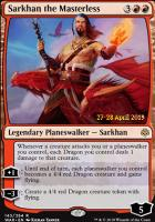 Promotional: Sarkhan the Masterless (Prerelease Foil)