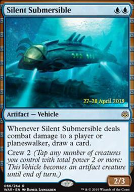 Promotional: Silent Submersible (Prerelease Foil)