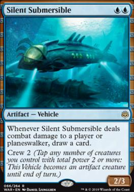 War of the Spark Foil: Silent Submersible