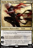 Promotional: Sorin, Vengeful Bloodlord (Prerelease Foil)