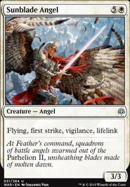 War of the Spark: Sunblade Angel